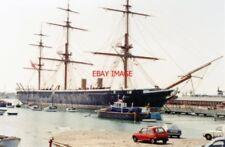 PHOTO  HAMPSHIRE 1992 PORTSMOUTH HARBOUR HMS 'WARRIOR' MAJOR ROYAL NAVAL VESSEL