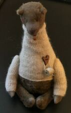 New listing Folk Art Winter Bear