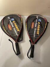 New listing 2 HEAD Ti. Jazz XL 3 5/8 Titanium Technology Racquetball Racquet Racket W/ Cover