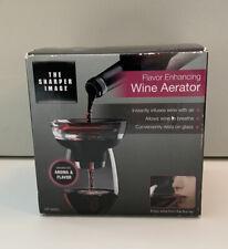 Sharper Image Wine Aerator Flavor Enhancing NEW Sealed in Box KP-W001