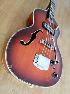 Hoyer Bass 1964 Vintage (Made in Germany) @ Hofner Framus Klira fender meazzi