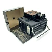 Vintage Bell & Howell Slide O Cube Still Picture Projector Model 991 with Remote