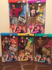 Set of 5 Beverly Hills 90210 Action Figure Barbie Nrfp