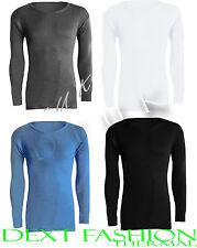 Ropa interior térmica para hombre LONG JOHN Camiseta De Manga Larga Esquí