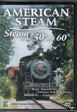 American Steam Rail in The 50s & 60s (dvd R-all) EXC Cond Film From 16mm Negs