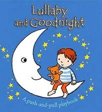 Baby Toddler Lullaby & Goodnight Push Pull Play Activity Story Books Hard Cover