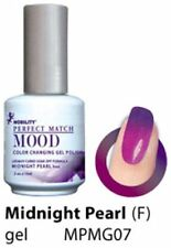 LeChat Mood Color Changing Soak Off Gel Nail Polish Midnight Pearl #MPMG07