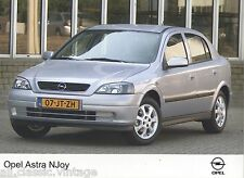 PRESS - FOTO/PHOTO/PICTURE - OPEL ASTRA NJoy