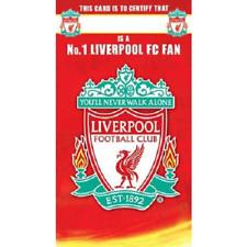 Liverpool Football Club No 1 Fan Birthday Card