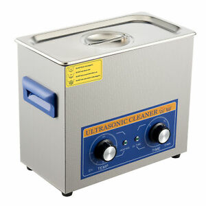 180W Professional Ultrasonic Cleaner 6L Ultrasonic Washer with 300W Heating