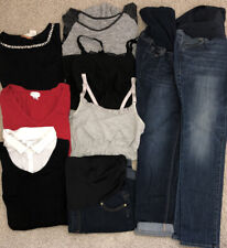 Maternity Clothes Size L Lot Of 9