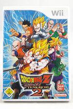 Dragon Ball Z: Budokai Tenkaichi 2 (Nintendo Wii/Wii U) Spiel OVP, CIB, SEHR GUT