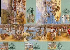 Australia Maximum / Maxi Cards - 1988 The First Fleet: Arrival (Complete Set)