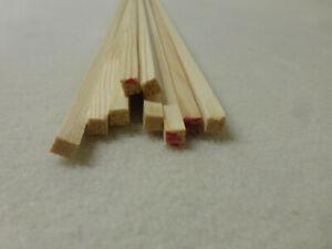 Quadratleiste Kiefer 5x5mm Vierkant Holzleisten 10Stk 100cm