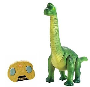 RC Remote Control Dinosaur Walks Roars Lights Up Infra Radio Control Walking Din