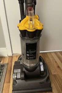 Dyson DC33 Multi Floor Bagless Vacuum Cleaner w/ Attachments yellow NICE