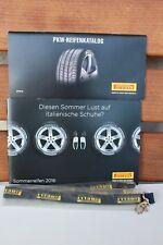 Pirelli Prospekte Broschüre Katalog PKW-Reifen Sommerreifen 2016 + Schlüsselband