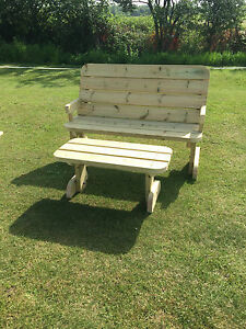 Heavy Duty Garden Bench Garden Seats **NO Self Assembly required**