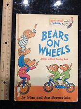 Berenstain Bears on wheels vintage Dr Seuss Book Hardcover 2 6.75