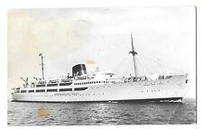 MS Kronprincesse Ingrid RP PPC Paquebot PMK 1963 Scandinavian Route Via Esbjerg