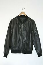 **AWESOME** A.P.C (APC)  Mens Leather Bomber Jacket XL Extra Large