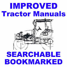 Ford TW5 TW15 TW25 TW35 Tractors Repair Workshop Service Manual = IMPROVED CD