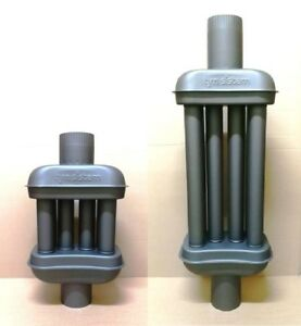 120mm Exhaust Heat Exchanger warmlufttauscher flue chimney pipe flue gas cooler