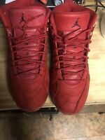 Nike Air Jordan XII 12 Retro Gym Red  Size 12 2018