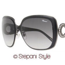 Chopard Sunglasses SCH936S 0508 Matte Black/Shiny Black 936