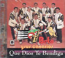 Beto Y Sus Canarios Que Dios Te Bendiga CD New Nuevo Sealed