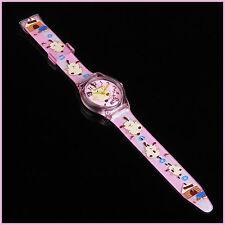 Cartoon Child Kid Analog Quartz Wrist Watch Rubber Girl FAST FROM SYDNEY
