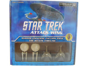 WZK73289 Star Trek Attack Wing Mirror Universe Faction Pack The Kelvin Timeline