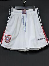 1995-98 Bayern Munich Away Football Shorts Soccer adidas M