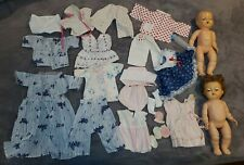 Set of 2 Vintage Tiny Tears American Character Dolls in Original Outfits So Cute