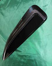 Pair of Genuine Jaguar F Type Carbon Fibre Bonnet Vents. F Type Carbon Louvres