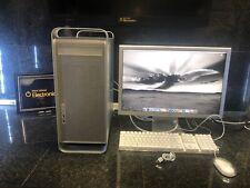 "Apple PowerMac G5 QUAD(2005)~STRONGEST PPC 10.4/ OS9 / ~16GB~2TB-23"" CINEMA"