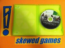 Injustice Gods Among Us - XBox 360 Microsoft Game & Case