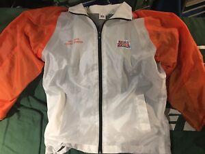 Super Bowl 41 NFL Safe Team Member White XL Zip Up Jacket Colts vs Bears