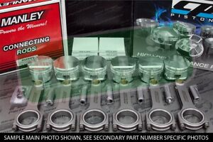 CP Forged Pistons Manley H Beam Rods for Toyota Supra MKIV 2JZGTE 8.5:1 86.5mm
