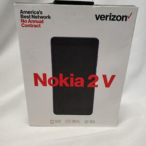 Nokia 2V 8GB Android 8.1 Oreo Smartphone for Verizon - Blue/Silver - 11EVWX11APP