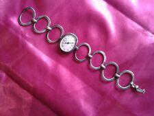 Ancienne montre femme ELIX, Argent massif doubles poinçons, fonctionne