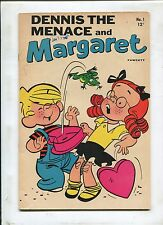 Dennis The Menace & Margaret #1 ~ Happy Birthday Margaret! ~ (Grade 7.0)WH