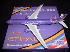 *AIRSTORE* Phoenix 1:400 Diecast ETIHAD A330-300 Abu-Dhabi 2015 Livery A6-AFA