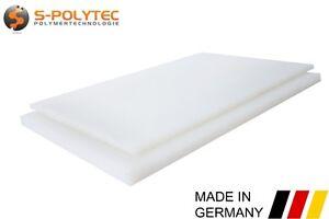 Kunststoffplatte NATUR | PE - HD | WEIß | Polyethylen Platte | TOP QUALITÄT