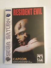 Replacement Case (NO GAME!) Resident Evil - Sega Saturn