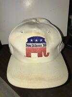 Vintage ~ New Orleans '88 Republican National Convention Adjustable Snapback Cap