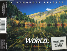 New Order – World (The Price Of Love) promo cd single