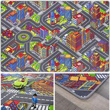 Spielteppich Kinderteppich Auto Straßenteppich Straße Teppich Kinderzimmer Kind