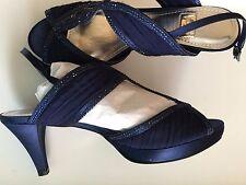 Sandali eleganti  OSEY  Donna  colore blu scuro, con strass, numero  38