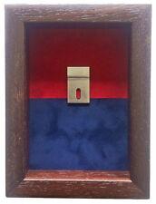 Small Royal Artillery (RFA) Regimental Medal Display Case For 2  Medals